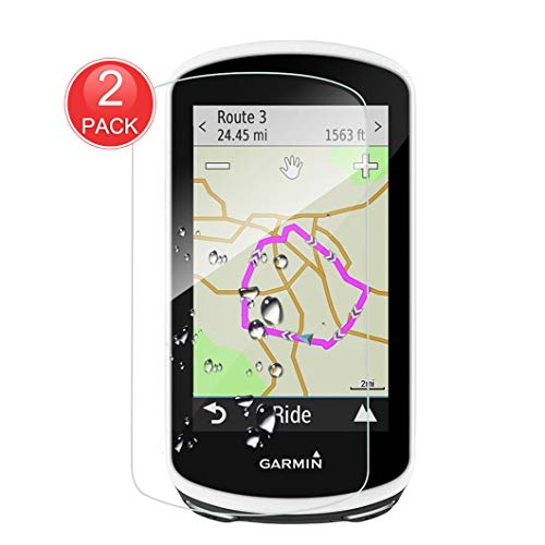 X-Dision [2-Pack Displayschutzfolie Kompatibel mit Garmin Edge 1030, Schutzhülle aus 9H-Hartglas, 2.5D Premium-Schutzfolie, [Blasenfreie Installation] [Durchsichtig Kratzfest]