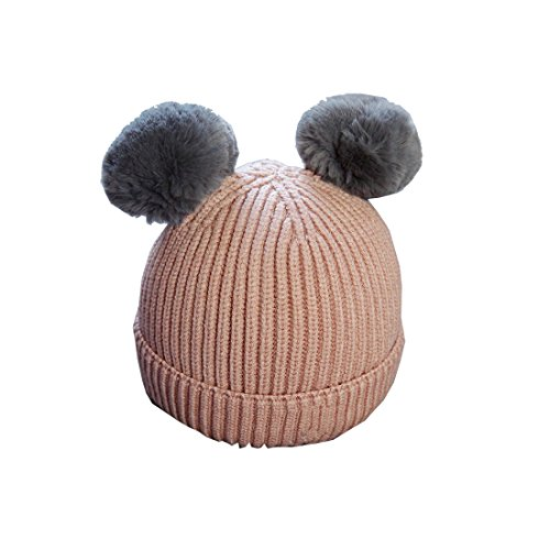 Militär Ball Cap (Kinder Ball Kappe Brief Warm Winter Hüte Gestrickt Wolle Hemming Baby Mädchen Jungen Klassischer Einfarbig Pelzkugel gestrickt Hüte & Mützen)