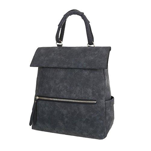 Taschen In Used Optik Schwarz
