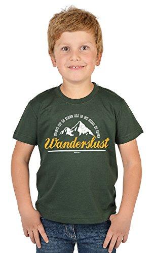 Bergesteiger Sprüche Kinder T-Shirt Wander Shirt : .in die Berge zu gehen Wanderslust - Kindershirt Klettern Berge T-Shirt Gr: XL= 158-164 -