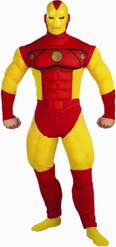 Iron Man Deluxe Kostüm-Herren
