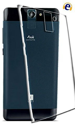 WTF Back Case, Lightweight,Shock Absorbing Transparent Soft Back Case Cover For IBall Andi 5F Infinium  available at amazon for Rs.184