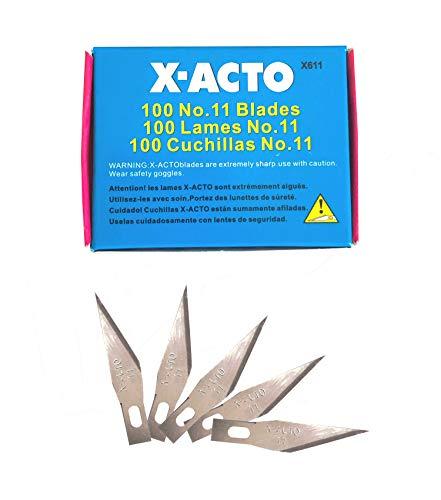X-Acto Outletdelocio. Set 100 Cuchillas 11. Hoja Recta
