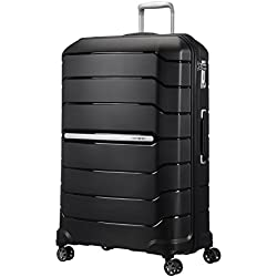 SAMSONITE Flux - Spinner 81/30 Expandable Bagage cabine, 81 cm, 145 liters, Noir (Noir)
