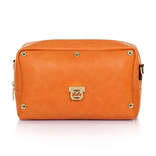 Numeroventidue BODY TURTLE MEDIUM Borse Accessori Light Orange Light Orange TU