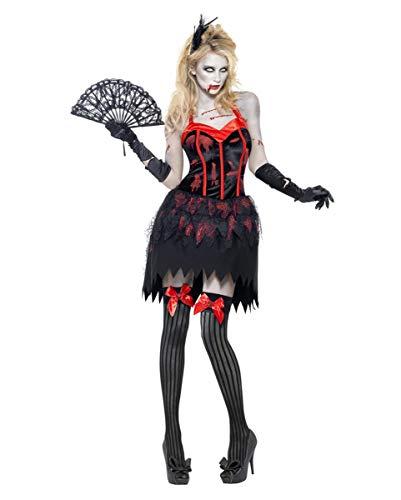 Horror-Shop Burlesque Zombie Kostüm M (Zombie Burlesque Kostüm)