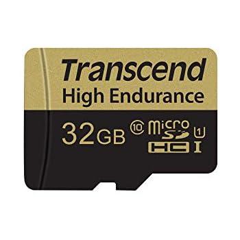 Transcend TS32GUSDHC10V Memoria Flash 32 GB MicroSDHC Clase 10 MLC - Tarjeta de Memoria (32 GB, MicroSDHC, Clase 10, MLC, 21 MB/s, Negro, Plata)