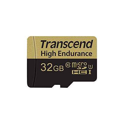 Transcend Information 32GB High Endurance Micro SD Card with Adapter