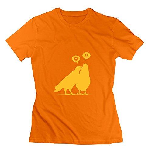 Sophie Warner Herren T-Shirt Gr. xxl, Schwarz - Orange (Kiss Lazer)