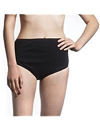 Ladies Shortie Brief-Medium-Black