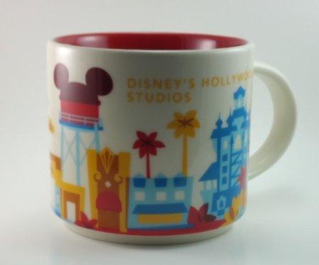 Mueangpan Starbucks Vous Êtes Ici Collection de Disney Hollywood Studios Disney Parks Mug 2015396,9Gram