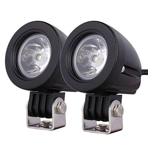 Preisvergleich Produktbild LEDMOMO LED Nebelscheinwerfer,  Fahrlicht aus der Straße 1 Paar 10W SMD 6000K LED Pods Lichter DRL oder Auto oder SUV Verwendung (weißes Licht)