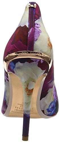 Ted Baker Kaawap, Escarpins Femme Multicolore (Blushing Bouquet)