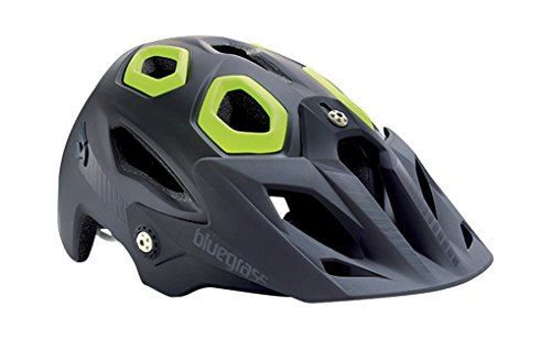 Bluegrass Golden Eye Helmet Cyan 2016 Mountainbike Helm Downhill Golden Eyes, Schwarz/Gelb, L, 8015190230504