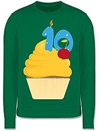 Geburtstag Kind - 10. Geburtstag Cupcake - Kinder Premium Pullover