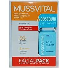 MUSSVITAL Fotoprotector Facial Fluid Emulsión spf 50 ...