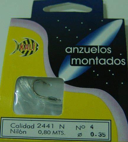 ANZUELO MONTADO KALI 2441-N FNC 4