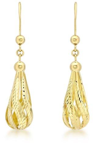 Carissima Gold - Femme - Boucles d'oreilles pendantes Or jaune