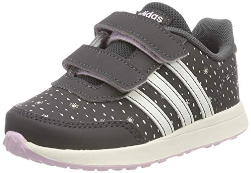 adidas Unisex Baby VS Switch 2 CMF INF Sneaker, Grau (Grey/Cloud White/Aero Pink 0), 25 EU