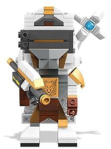 Mega Bloks- Thomas y Sus Amigos Figuras coleccionables, Color Blanco/Gris/Negro. (Mattel DTW69)
