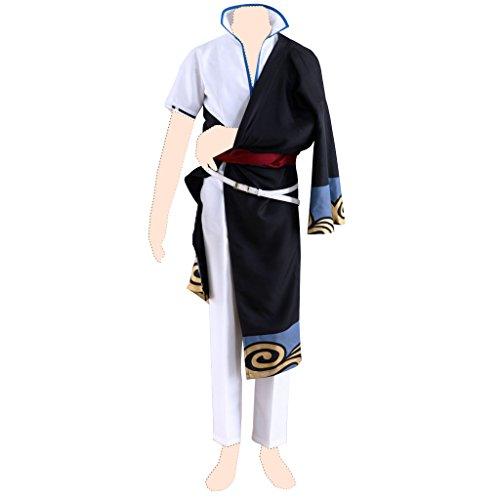 Gin Tama Kostuem cosplay Sakata Gintoki 1st ver-Kimono - Gintoki Sakata Cosplay Kostüm