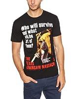 Plastic Head Texas Chainsaw Massacre Poster Men's T-Shirt