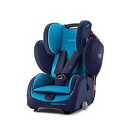 Recaro 6203.21504.66Seggiolino Auto per bambini Young Sport Hero, Xenon Blu