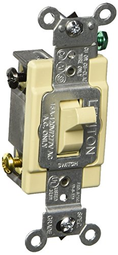 Leviton 4-way Toggle (Leviton S01-CS415-2IS 4 Way 15 Amp Toggle Switch by Leviton)