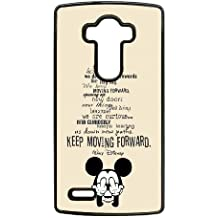 Mickey Mouse caja del teléfono celular lg 8j853t g4 funda y1812k negro caja del teléfono 3d funda dura
