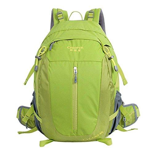 Wasserdichte 40L Nylon Fahrrad Rucksäcke Ultrasporttasche für das Reiten Fahrradrucksack Rennrad Tasche Green