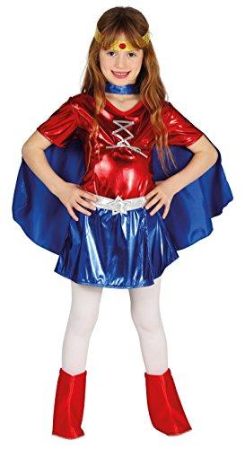 Heldinnen Marvel Kostüm - Guirca-Kostüm súperheroína, Gr. 7-9Jahre (87468.0)