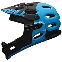 Bell Super 2R MIPS Helmet Matte Black/Blue Aggression, S by Bell