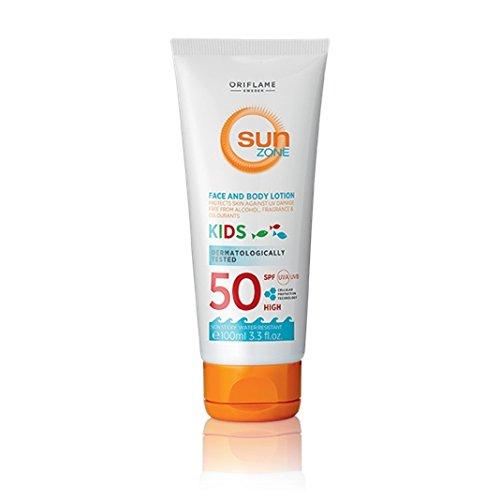 Sun Zone Face & Body Lotion Kids SPF 50 High