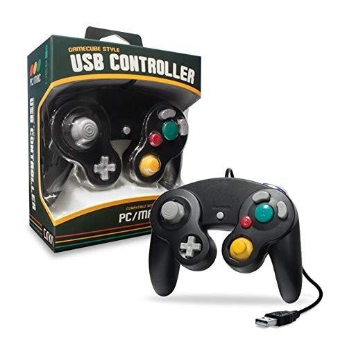 CirKa Premium GameCube USB-Controller für PC / Mac, Schwarz