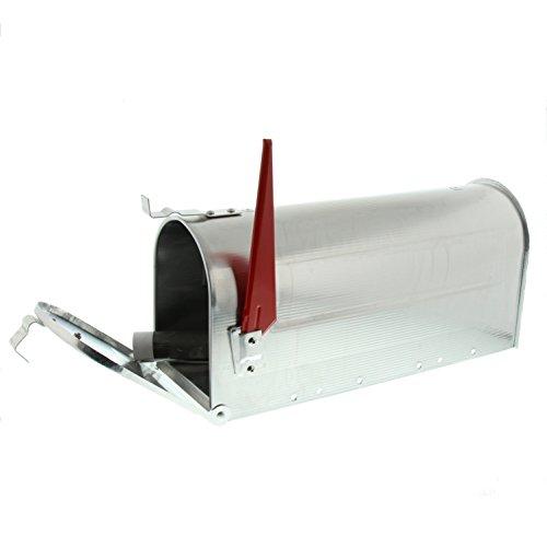 BURG-WÄCHTER, US-Mailbox mit schwenkbarer Fahne, 892 ALU, Massiv Aluminium - 3
