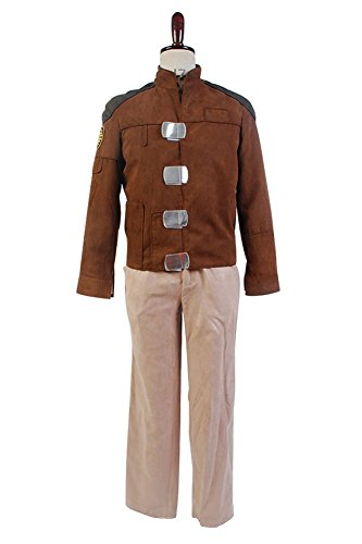 Galactica Kostüm - Battlestar Galactica Kostüm Cosplay 1978 Galactica Uniform Herren XXL