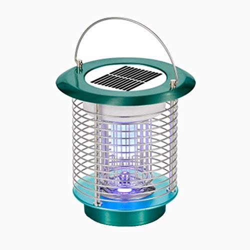 SolarHaushalts Mückenschutz, Elektrische Mücken Killer Lampe Moskitoschutz Insektenvernichter Mückenfalle Loxmy Lampen Fliegenfalle Zapper Insektenschutz anti Mückenlicht (grün)