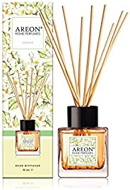 Areon Home Perfume Reed Diffuser 50 ml 10 Rattan Reeds - Jasmine