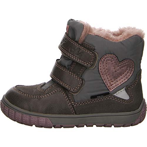 Lurchi Mädchen Jina-Tex-L Boots Tex-Schuh Größe 23 EU Grau (grau)