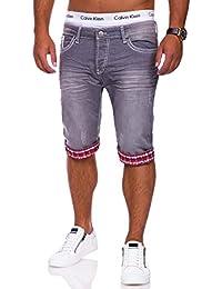 MT Styles Jogg-Jeans Bermuda Shorts RJ-4017