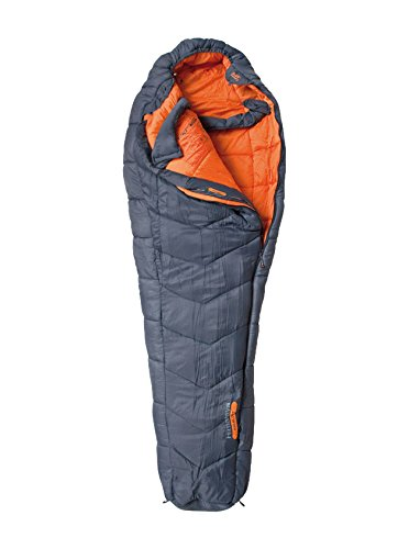 ALTUS Himalaya Saco de Dormir, Adultos Unisex, Gris/Naranja, Unico