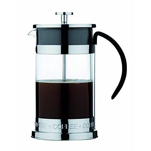 Café Ole 3Cup Nuvo Glas & Edelstahl Kaffeebereiter, glas, edelstahl, 3 Cup (350ml) -