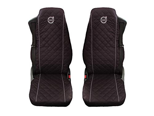 Preisvergleich Produktbild Unknow LKW Volvo FL;FE;FM;FH12;FH16 / FH4 Nacht 2014 2 x LKW-Sitzbezüge Graue Beats