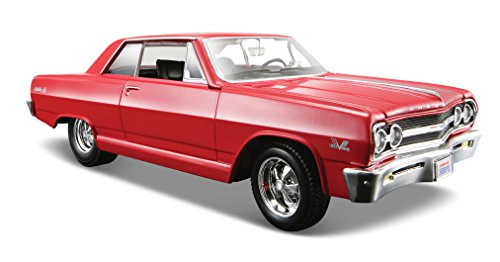 maisto-124-scale-1965-chevrolet-malibu-ss-diecast-vehicle-colors-may-vary