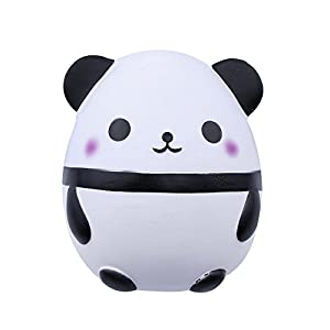 Quate Pu Slow Rebound Simulación Squishy Paper Cat PU Foaming Decompression Toys Panda panda de Queta