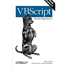 VBScript Pocket Reference  (en anglais)