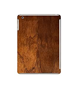 Fuson Designer Back Case Cover for Apple iPad Mini Wifi :: Apple iPad Mini Wifi + Cellular (7.9 Inches) (Wooden Woody Door Strong Brown)