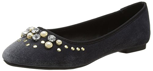 Miss Selfridge 51e21ugry, Ballerine Basse Donna Grey (Grey)