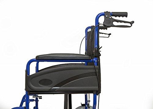 Dash Express Ultra ligero, fácil plegable silla de ruedas –...