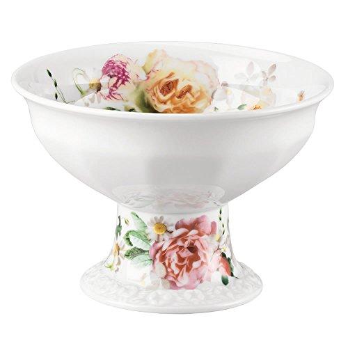 Rosenthal 10430-407165-25423 Maria Pink Rose Konfektschale auf Fuss, Durchmesser 12,5 cm, 0,28 L -